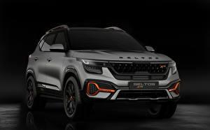 Fotos KIA Vorne Grau Kia Seltos X-Line Concept 2020 Autos