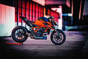 Hintergrundbilder KTM Motorrad Seitlich 2020 1290 Super Duke R