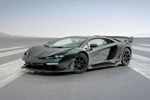 Pictures Lamborghini Side Reinforced polymer plastic Aventador, Mansory, 2020, SVJ, Cabrera automobile