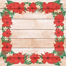 Hintergrundbilder Lilien Gezeichnet Bretter Vorlage Grußkarte Blumen