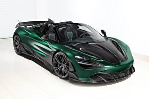 Bilder McLaren Grün Carbon Metallisch Roadster Spider, TopCar, Fury, 2020, 720S automobil