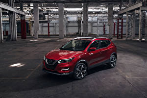 Images Nissan Wine color Metallic 2020 Rogue Sport Cars