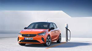 Fondos de Pantalla Opel Naranja Metálico Corsa E, 2019, FWD Coches imágenes