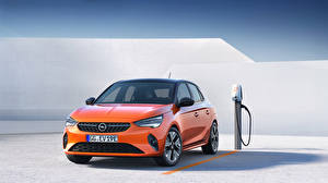Fotos Opel Orange Metallisch Corsa E, 2019, FWD Autos