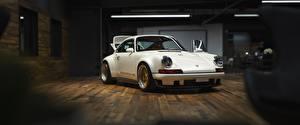 Fondos de Pantalla Porsche Blanco 930 Coches imágenes
