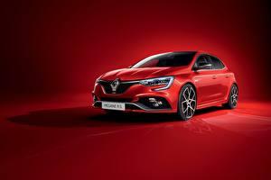 Tapety na pulpit Renault Czerwony Metaliczna Megane, R.S., Trophy, 2020 samochód
