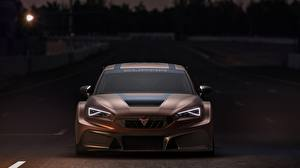 Images Seat Front Brown Carbon fiber Headlights Leon, Competition, Cupra, 2020 Cars