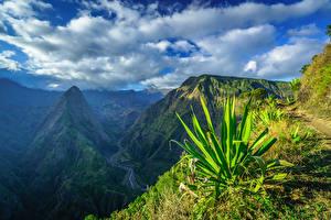 Hintergrundbilder Himmel Berg Frankreich Wolke  Natur