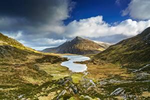 Fotos Himmel Berg Vereinigtes Königreich Wolke Wales Snowdonia National Park, Gwynedd Natur