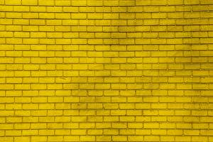 Wallpaper Texture Yellow Made of bricks
