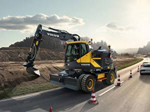 Fotos Volvo Technik Bagger 2016-20 EWR150E