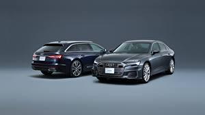 Photo Audi Metallic Two Station wagon A6, Avant, S Line Cars