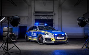 Wallpaper Audi Tuning Police 2019-20 RS 4-R Avant Tune it! Safe! Concept automobile