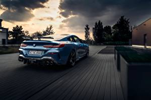 Wallpapers BMW Back view Blue Coupe AC Schnitzer G15 M850i ACS8 5.0i automobile