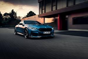 Hintergrundbilder BMW Hellblau AC Schnitzer G15 M850i ACS8 5.0i Autos