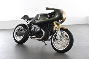 Hintergrundbilder BMW - Motorrad Schwarz 2016-20 AC Schnitzer R nineT Full Race Motorräder