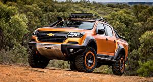 Fotos Chevrolet Pick-up Orange Metallisch 4x4, Colorado, Z71, 2016, Xtreme Concep automobil
