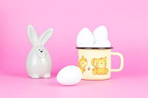 Pictures Easter Rabbit Mug Eggs Egg