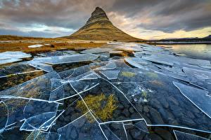 Fotos Island Berg Eis  Natur