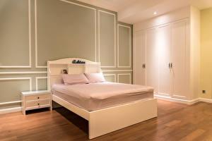 Fondos de escritorio Diseño interior Cama Habitación Dormitorio Almohada Diseño