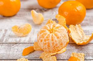 Pictures Mandarine Closeup
