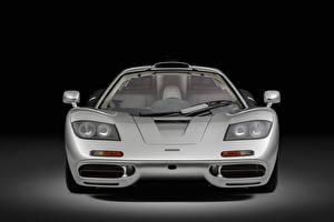 Fotos McLaren Vorne Silber Farbe Metallisch F1, Sports car, 1993 auto