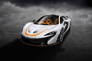 Fotos McLaren Weiß P1