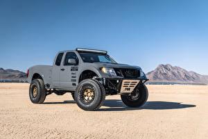 Fotos Nissan Graues Pick-up 2019 Frontier Desert Runner automobil