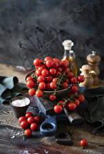 Sfondi desktop Pomodori Il sale alimento