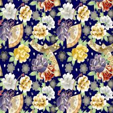 Fotos Ornament Textur Vektorgrafik Blüte