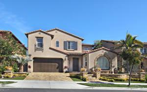 Fotos Vereinigte Staaten Haus Kalifornien Eigenheim Design Garage Straßenlaterne Aliso Viejo Städte