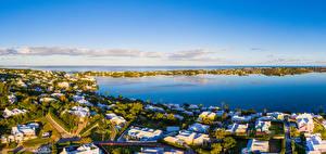 Fotos Vereinigtes Königreich Gebäude Bucht Harrington Sound Bermuda Städte