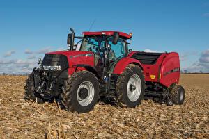 Hintergrundbilder Landwirtschaftlichen Maschinen Acker Traktoren 2014-20 Case IH Puma 185 CVT