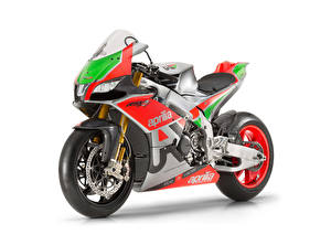 Pictures Aprilia Tuning White background 2016-19 RSV4 R-FW Misano