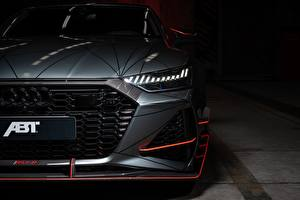 Images Audi Headlights Front Gray ABT Sportback 2020 RS7-R automobile