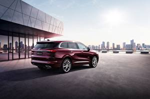 Picture Buick Dark red Enclave 2019 Cars