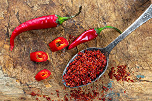 Image Chili pepper Boards Spoon