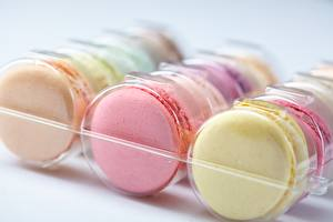 Images Closeup French macarons