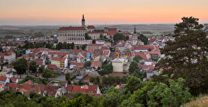 Hintergrundbilder Tschechische Republik Gebäude Dach Mikulov