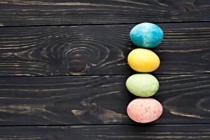Hintergrundbilder Ostern Bretter Eier Vorlage Grußkarte Lebensmittel