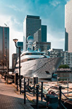 Hintergrundbilder England Seebrücke Yacht London Straßenlaterne Städte
