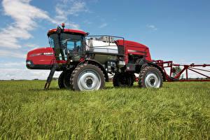 Fotos Felder Landwirtschaftlichen Maschinen 2011-19 Case IH Patriot 4430