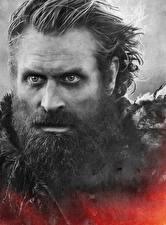 Fotos Game of Thrones Großansicht Mann Gesicht Barthaar Tormund Giants Death Film
