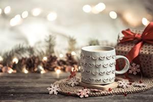 Hintergrundbilder Goryachiy Shokolad Neujahr Becher Schneeflocken das Essen
