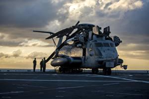 Sfondi desktop Elicottero Americana US Marine Corps, CH-53E Super Stallion