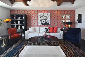 Hintergrundbilder Innenarchitektur Design Wohnzimmer Couch Sessel Teppich Kissen