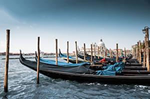 Hintergrundbilder Italien Boot Venedig