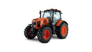 Bilder Traktor Weißer hintergrund Kubota, M7 171