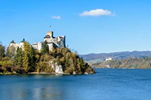 Pictures Lake Castles Poland Castle In Niedzica, Lake Czorsztynskie