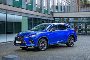Wallpapers Lexus Light Blue 2019-20 RX 450h F SPORT